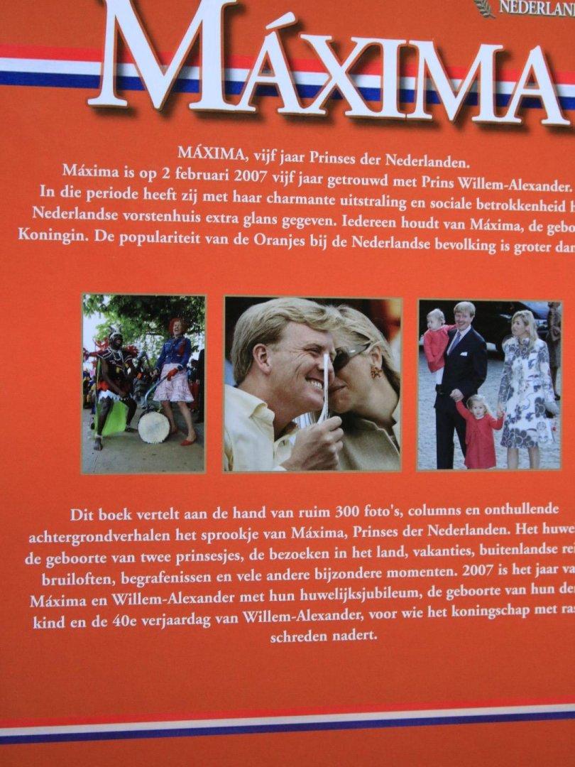 prins willem alexander 40 jaar Boekwinkeltjes.nl   Maxima / vijf jaar Prinses der Nederlanden  prins willem alexander 40 jaar