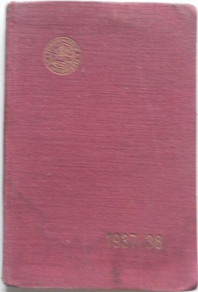 Touristenverein Landgruppe Schweiz - Taschenbuch 1937/38 für Naturfreunde Agenda de poche 1937/38 Des amis de la nature 1ere et 2me annees