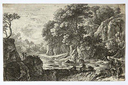 Swanevelt, Herman van (1603/04-1655) - The fishermen