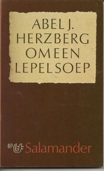 Herzberg (17 September 1893, Amsterdam - 19 May 1989, Amsterdam), Abel J - Om een lepel soep - Over advocaten en hun clienten