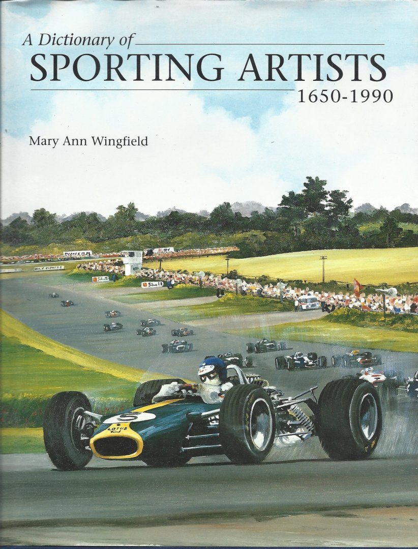 WINGFIELD, MARY ANN - A Dictionary of Sporting Artists 1650-1990