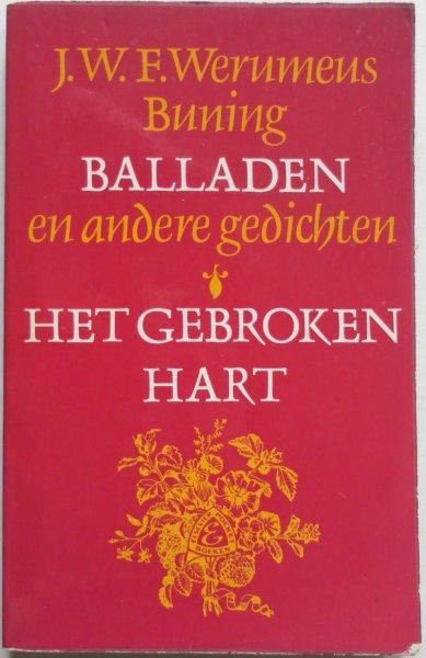 Werumeus Buning J W F, illustraties Doeve J F - Balladen en andere gedichten Het gebroken hart of de reis naar Barcelona