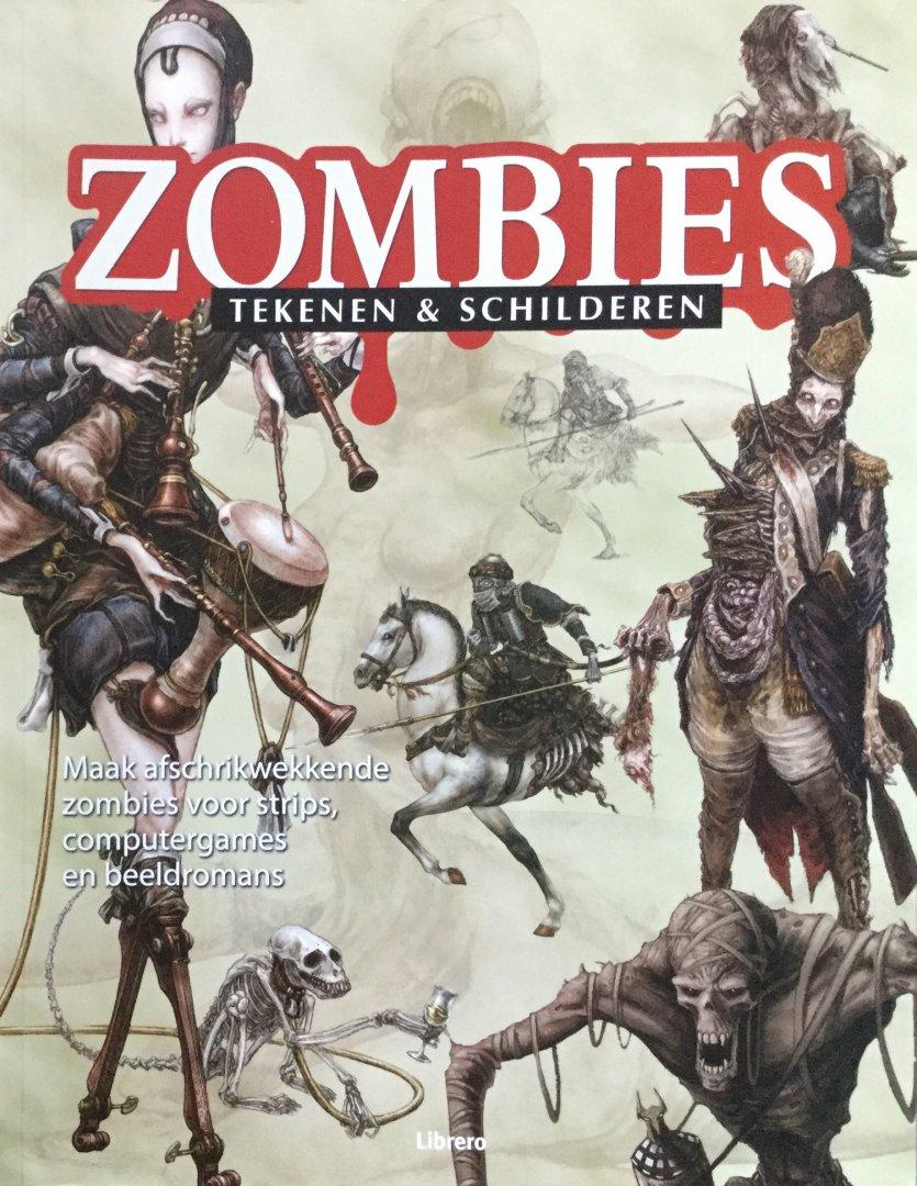 Thompson, Keith - Zombies tekenen en schilderen; maak afschrikwekkende zombies voor strips, computergames en beeldromans
