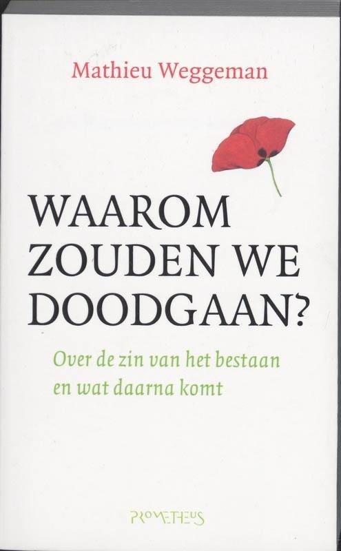 Matieu Weggeman - Waarom zouden we doodgaan ? over de zin van het bestaan en wat daarna komt