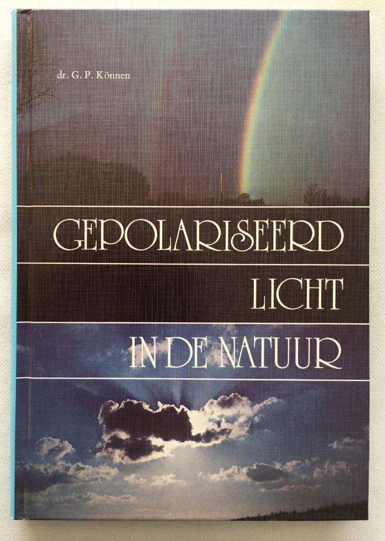 Können, G.P., - Gepolariseerd licht in de natuur
