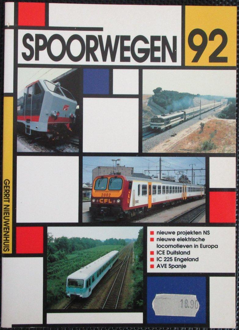 Nieuwenhuis, Gerrit - Spoorwegen 92