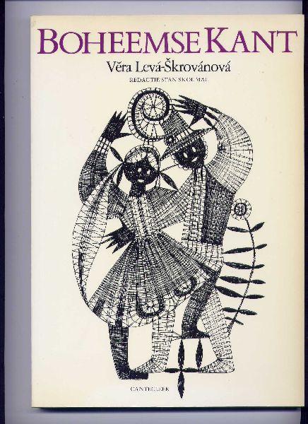 VERA LEVA-SKROVÁNOVÁ (redactie: Stan Skoumal) - Boheemse Kant - (`vijftig originele, eigentijdse kantklospatronen van de hand van de Tsjechoslowaakse ontwerpster`)