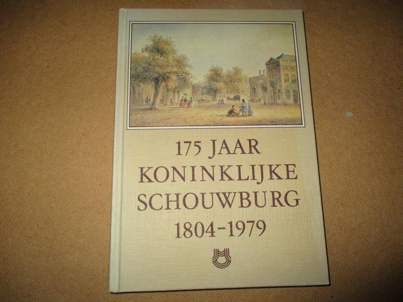 Slechte, e.a. C.H. - 175 jaar Koninklijke Schouwburg 1804/1979. Den Haag.