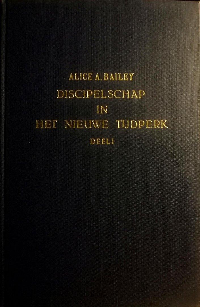 Bailey , Alice A. [ ISBN 9789060774984 ] 3619 - Discipelschap in het NieuweTijdperk . Deel l . ( In de twee boeken van 'Discipelschap in het nieuwe tijdperk' vindt u het onderricht dat aan kleine groepen en individuele leden werd gegeven. Het behandelt o.a. meditatie, inwijding en de zes stadia -