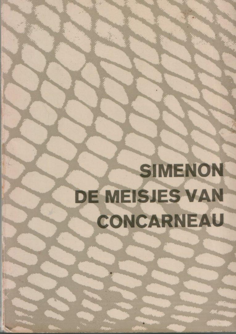 Georges Simenon - 1203  De  meisjes van Concarneau