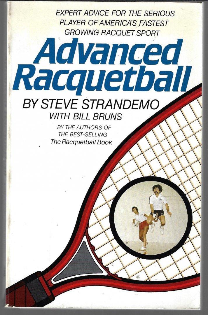 STRANDEMO, STEVE AND BRUNS, BILL - Advanced racquetball