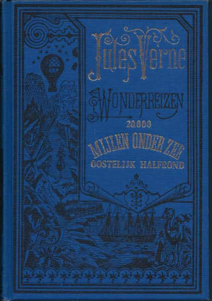 Boekwinkeltjes Jules Verne Wonderreizen 20000 Mijlen Onder