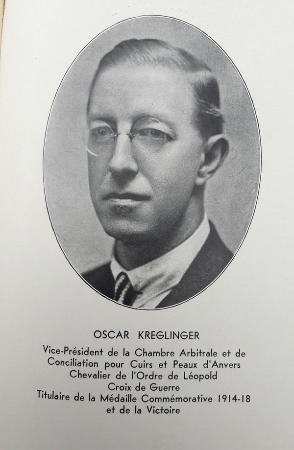 Marcel Collignon - Le Monde Belge du Cuir en 1935