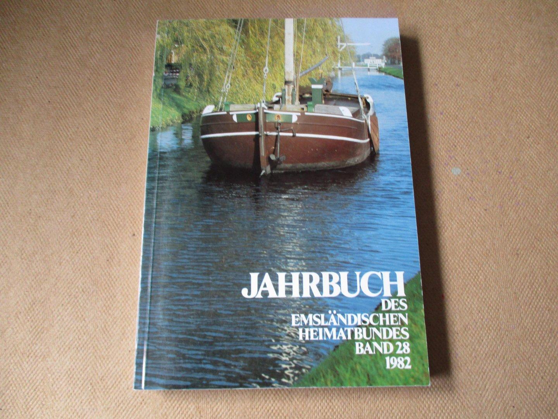 Franke und Eckard Wagner. Schriftleitung Werner - 28e deel / Jahrbuch des Emsländische Heimatbundes 1982 - met kaart Landkreis Emsland uitgave 1981