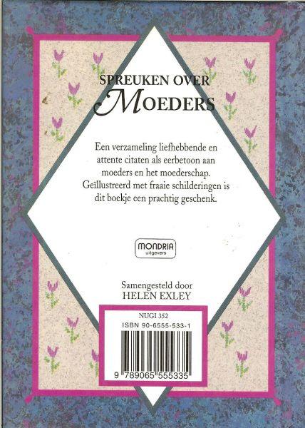 spreuken over moeders Boekwinkeltjes.nl   Spreuken over Moeders   Een verzameling  spreuken over moeders