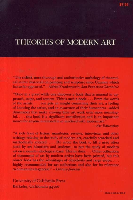 Boekwinkeltjes Nl Chipp Herschel B Theories Of Modern