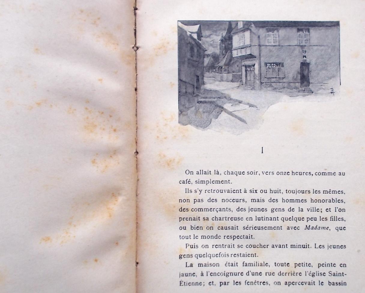 Guy de maupassant la maison tellier - Maison bois litouwen ...