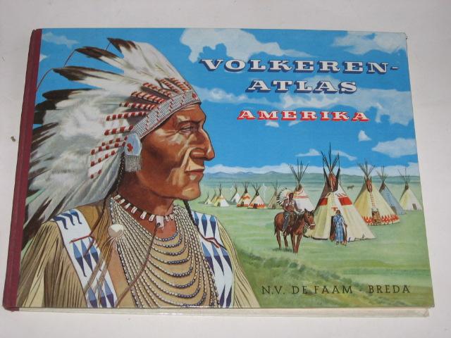 Janssen, Drs J. - Volkeren-atlas Amerika