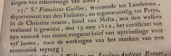 Napoleon - Bulletin der Wetten
