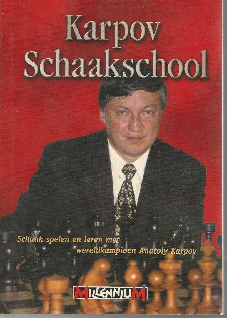 TREPPNER, GERD EN WEINER, OSSI - Karpov Schaakschool -Schaak spelen en leren met wereldkampioen Anatoly Karpov