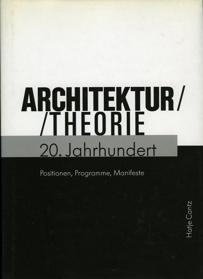 Architekturtheorie 20. Jahr...