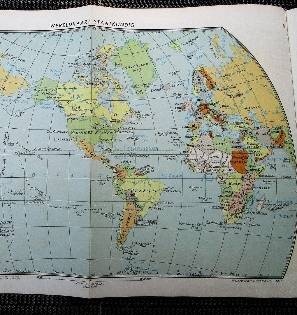 De Vries, G.J. - KINGATLAS van de gehele aarde