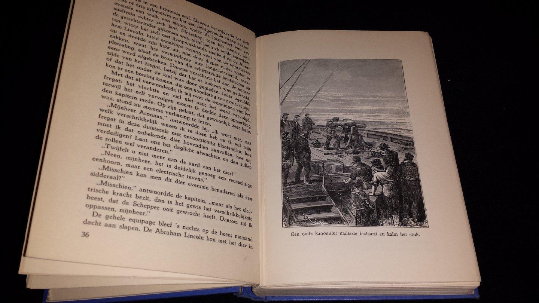 """... Jules Verne - 20.000 Mijlen onder zee """"oostelijk halfrond"""""""