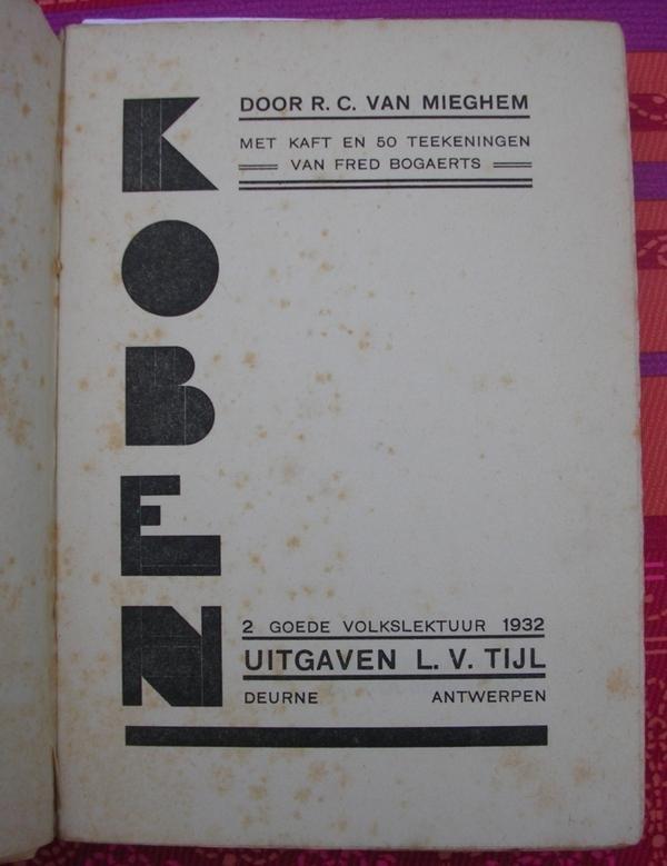 R.C. Van Mieghem - Koben
