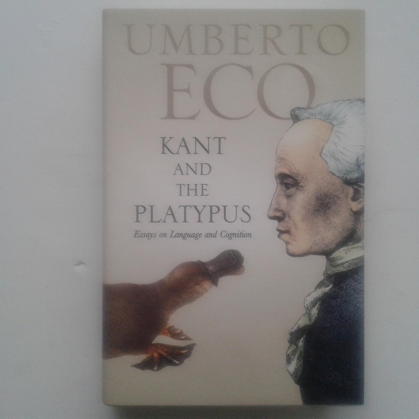 kant and the platypus essay on language and cognition Kant and the platypus: essays on language and cognition by mcewen, alastair and a great selection of similar used, new and collectible books available now at.