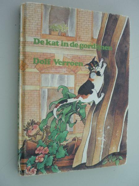 Boekwinkeltjes.nl - Verroen, Dolf - De kat in de gordijnen