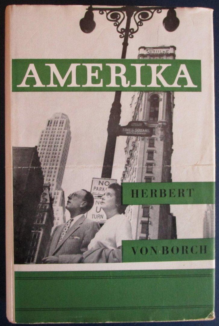 Von Borch, Herbert - Amerika / Maatschappij in wording