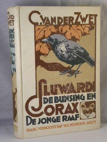 Zwet, C. van der - Sluwardi de bunsing en Corax de jonge raaf