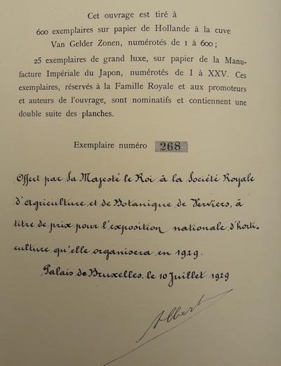 De Bosschere, Charles - Les Serres Royales de Laeken