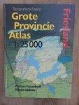 red. WN - Grote provincie atlas / Friesland / op schaal 1:25.000