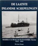 Keppy, H. - De laatste inlandse schepelingen. Molukkers in dienst van de Koninklijke Marine 1915-1965.