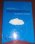 L. Pater, S. Roest, S. Dubbeldam, M. Verweijen - Implementeren / het speelveld in de praktijk