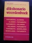 Dijkhoff, Mario - Dikshonario Woordenboek Papiamentu-Ulandes Ulandes-Papiamentu. Papiamento-Hulandes Hulandes Papiamento. Papiaments-Nederlands Nederlands -Papiaments