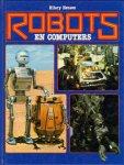 Henson, Hilary - Robots en Computers, 77 pag. hardcover, goede staat, tekst en veel foto's en tekeningen
