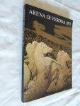 red. - Arena di Verona 1973 - 51th festival dell opera lirica