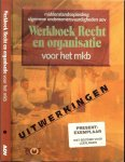 Pietersen, P.F.  Drs  en  P. H. Pietersen - Werkboek recht en organisatie voor het MKB. Middenstandsopleiding