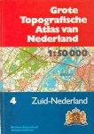 Wolters Noordhoff - Grote topografische atlas van Zuid- Nederland