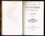 CASSE,  ALBERT du - Le Général Vandamme et sa correspondance ( volume 2 )