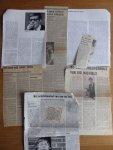 Michiels, Ivo - Aantal (8) knipsels van en over Ivo Michiels, jaren '70