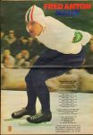 Diverse  tekenaars - PEP 1969 nr. 07 , stripweekblad , 15 februari 1969 met o.a.  DIVERSE STRIPS(ASTERIX/MICK TANGY/RIK RINGERS/ROODBAARD/MICHEL VAILLANT/LUCKY LUKE)/FRED ANTON MAIER (SCHAATSEN/POSTER)/MICK TANGY (COVER TEKENING HANS G. KRESSE) , goede stata