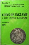 Seaby, Peter / Purvey, Frank - Seaby's Standard Catalogue of British Coins. Parts 1 & 2. Coins of England and the United Kingdom. 15th edition 1976