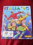 Panini - ITALIA 90 World Cup plaatjesalbum  stickeralbum
