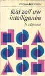Eysenck, H.J. - Test zelf uw intelligentie