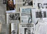 Grass, Günter - Aantal (42) knipsels van en over Günter Grass