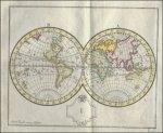 ATLAS - WORLD - Atlas, Geographische oefening, schetzende de geheele aardrykskunde in XXII. landkaartjes, naar de nieuwste ontdekkingen gemaakt en opgehelderd by wyze van vragen en antwoorden; zeer nuttig voor de leerlingen en allerlei beminnaren van de geogr...