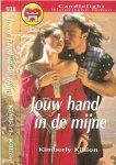 Killion Kimberly  Vertaling  Helene Leon - Jouw hand in de mijne Candlelight Historische roman 938